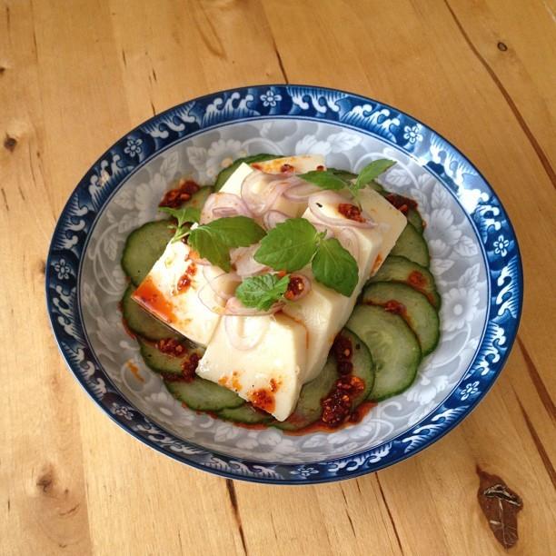 House Made Chickpea Tofu