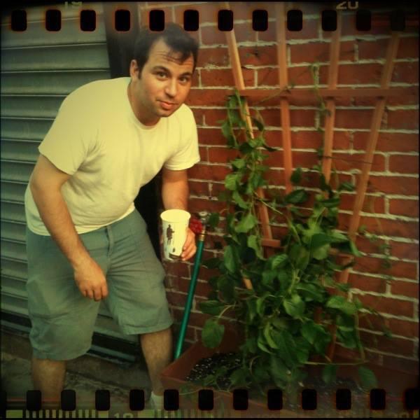 Aaron Loves Gardening