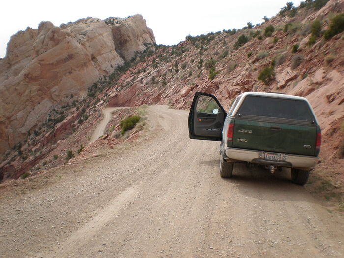 You may not have to drive 1,000 vertical feet of switchbacks... But I do.