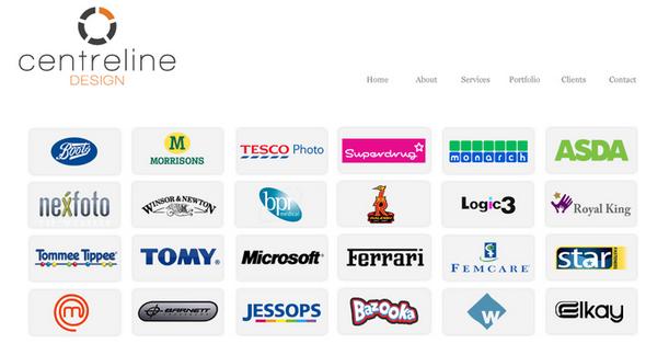Centreline Design client list