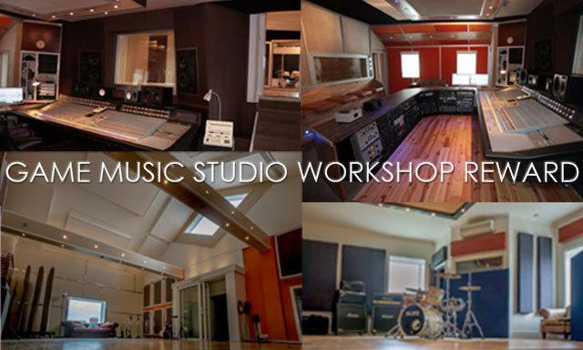 """Join Rik at """"The Chairworks"""" recording studio for a game music masterclass!"""
