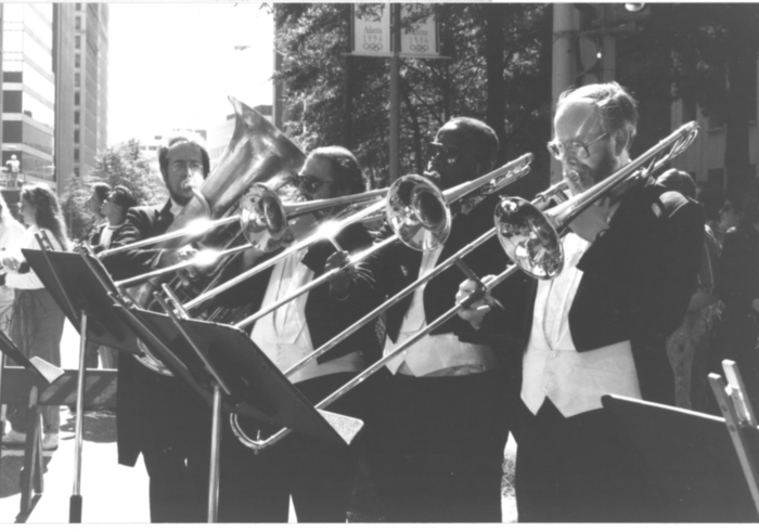 The 1996 Atlanta Centennial Olympic Games brought great exposure to the ASO as they performed at the Opening Ceremonies under the direction of esteemed film composer John Williams.
