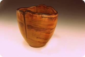 Turned Osage Orange Bowl