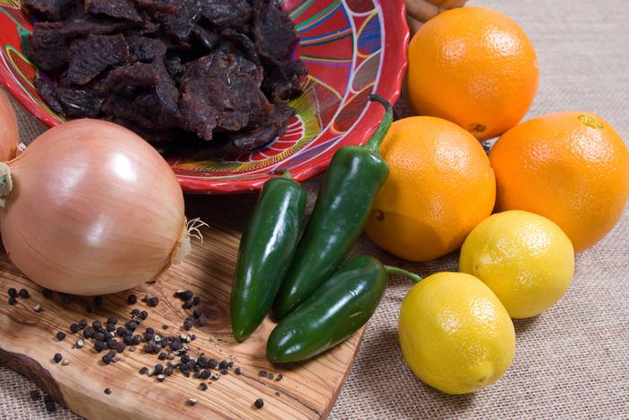 Carne Asada beef jerky, ingredients