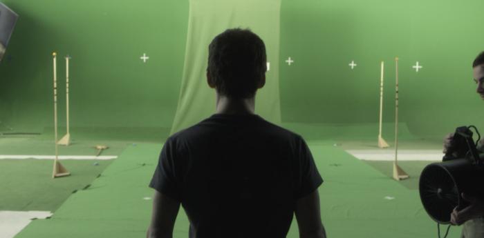 Meet our hero ( Behind the scenes shot )