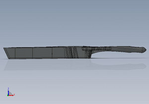 The computer model is ready for tooling.