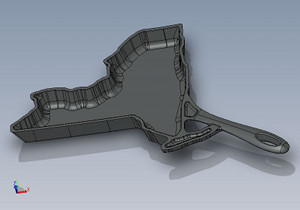The American Skillet Co.'s 3D model for New York.