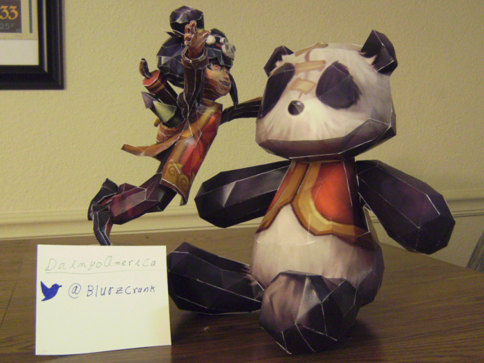 Panda Annie, as submitted to the League Lunar Revel Contest. It didn't win :(