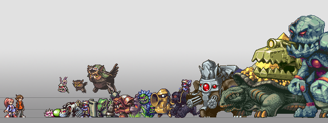 The ridiculous monster lineup so far