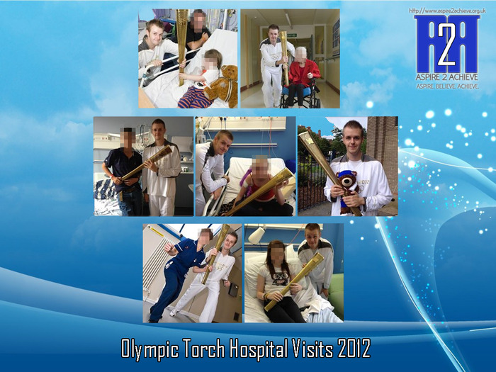 Olympic Torch visits 2012