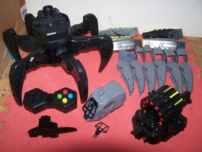 The Basic Robot kit.  Ya, I know!  Nothing basic about it!  Robot, Armour, Explodo Armour, Dart Blaster, Blaster Elevator, Cockpit targets, Awesomeness!!!