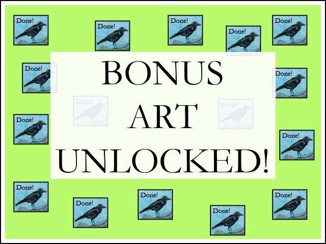 Will you tell your friends? Because all backers now get bonus art!