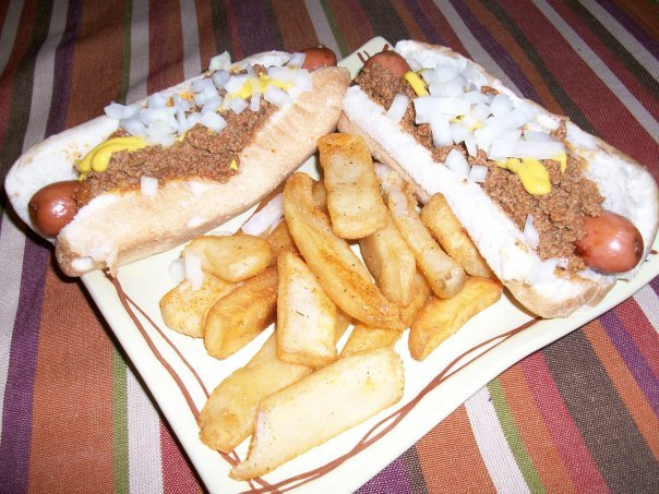 Coney Dogs and Seasoned Fries using the Coney Spice and Seasoning Salt.  The Coney Spice also add tons of flavor to your chilis, whether vegan or meat based.  The Seasoning Salt is low in sodium and no MSG and goes wonderfully on EVERYTHING!  It is packed