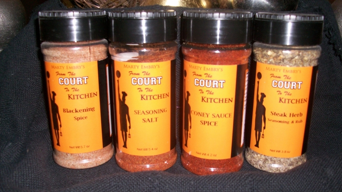 From the Court to the Kitchen Spices
