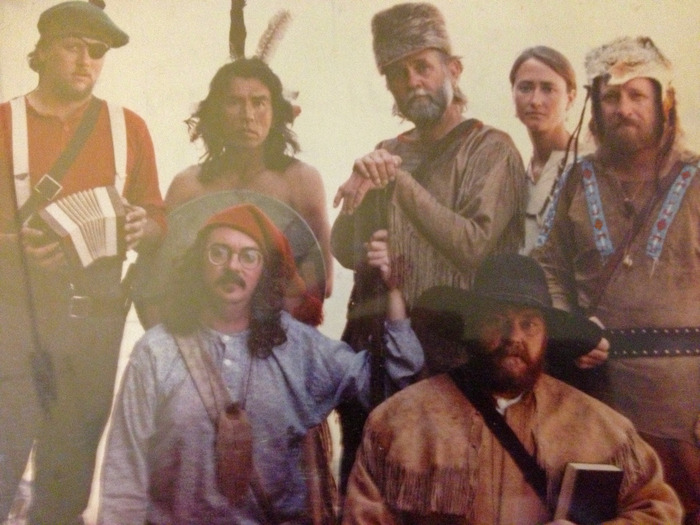 Original Company photo ABOTW featuring Wes Studi, Joe Sears (photo in mint condition, plastic created a glare in this image)