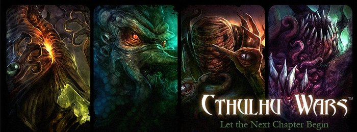 Play Cthulhu Wars with creator Sandy Petersen IF we make our stretch goal