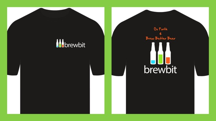 Front and back of T-shirt