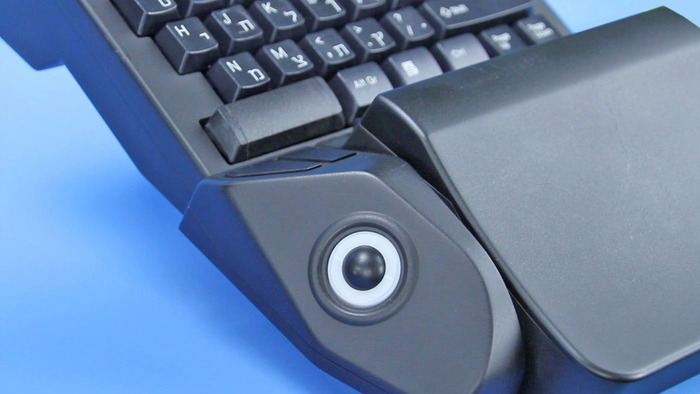 Trackball & Mouse Buttons - Actual Photo