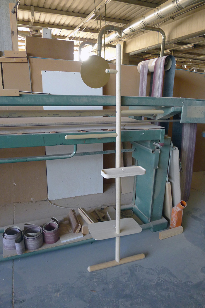 Camerino prototype in the factory