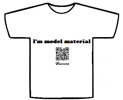 Our T-shirts connect you and your friends to the new Scan-to-Print web app!