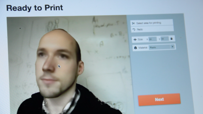 Your 3D model will load in the app. With some small adjustments, you'll be ready to print!