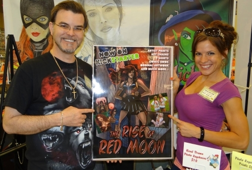 Paul R. Michaels and Red Moon Model Melissa Bender