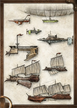 Poster #2: Cloudships & Gunboats