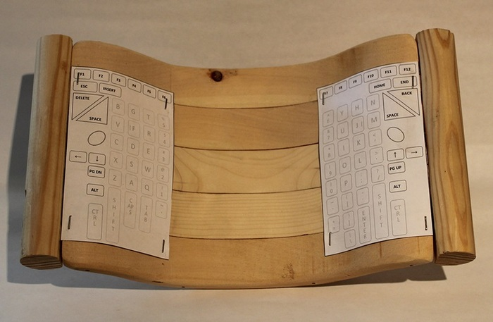 Wooden Model #2 (front)