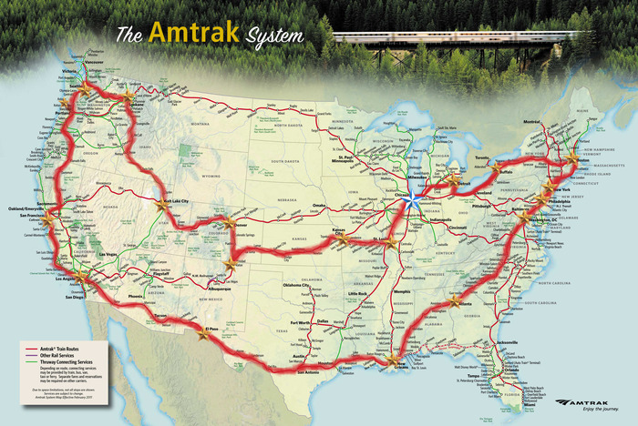 The route that we will be taking.