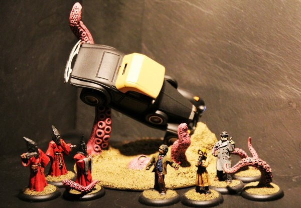 """There Goes the Escape Plan""  Cultists I vs. Threshold Agents I from Brush Off! 2012"