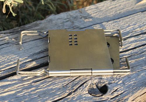 "3"" Folding Firebox Nano (all folded up)"