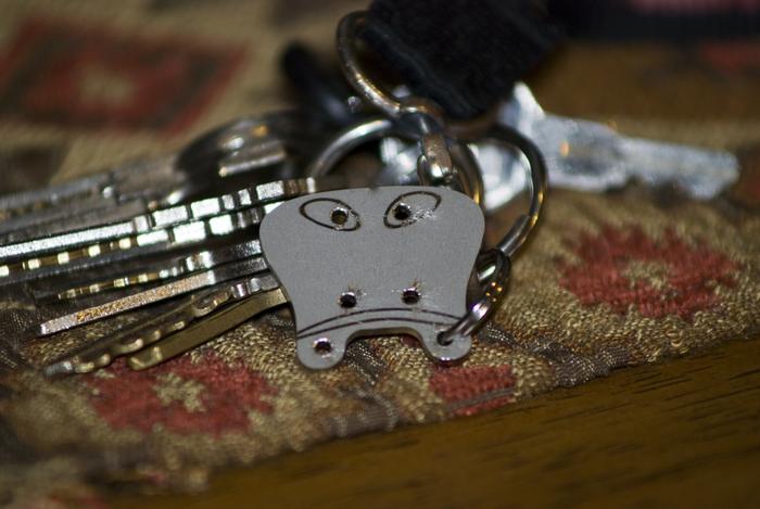 Our key chain reward