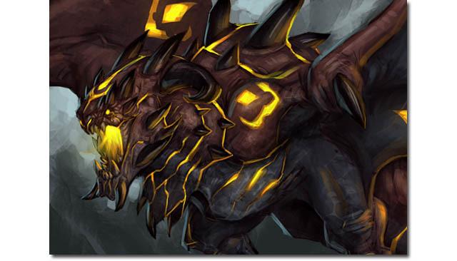Marauder Fire Dragon unit - an Epic rare card!