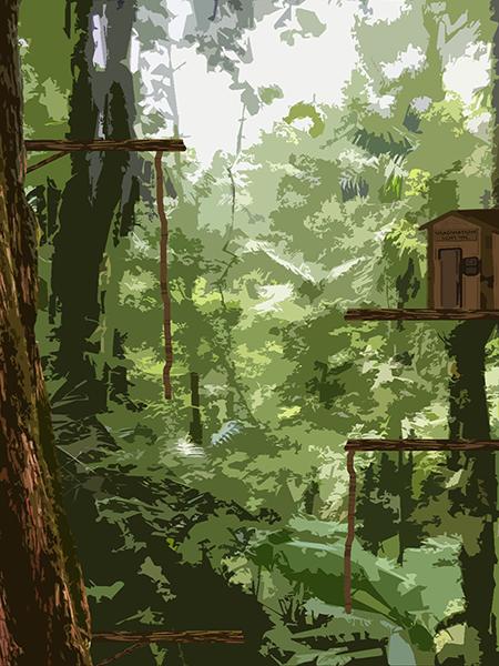 Jungle Stage Concept
