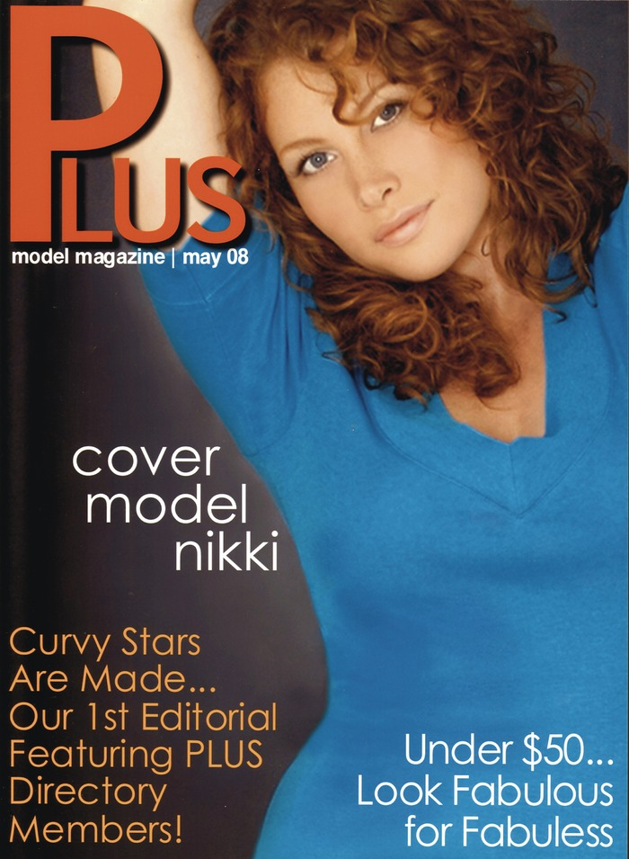 Plus Size Model Cover