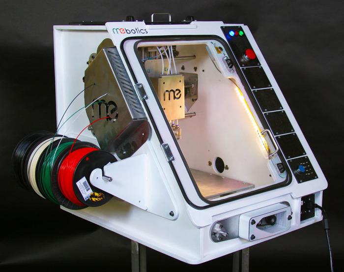 Mebotics Microfactory Spool Side