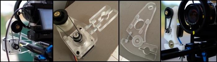 Apparatus Prototype 1, 2, 3, 4.