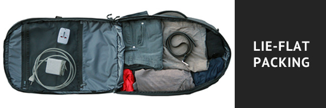 So you can pack - and unpack - faster.