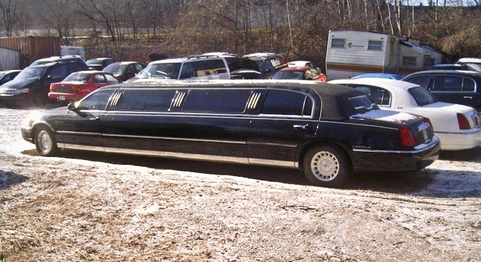 the Limo: $2000.00 Year 2000