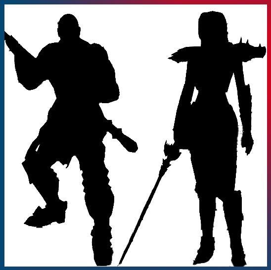 Backer Custom Character Silhouette