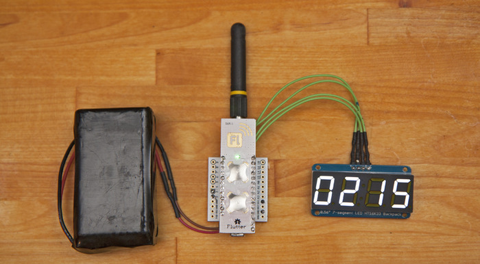 Flutter displaying data with an inexpensive display