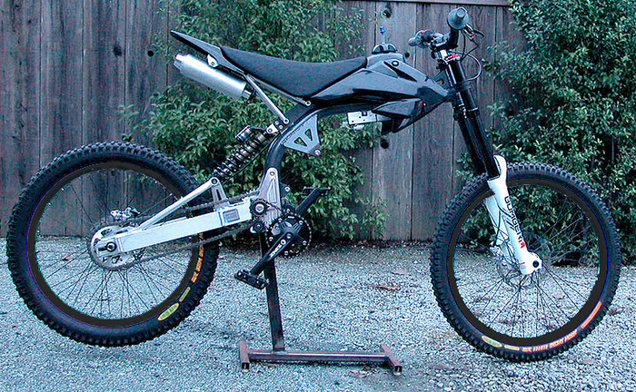 Complete bike without motor.