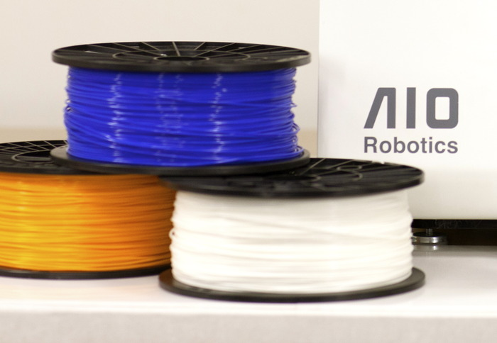 We are testing different filament colors to achieve the best printing quality