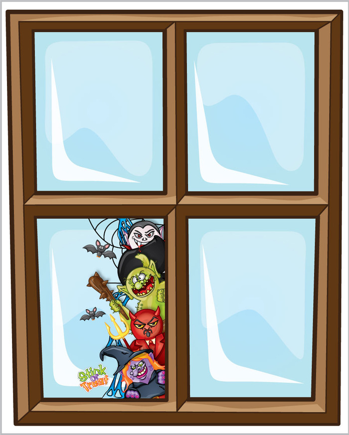 Window cling decoration