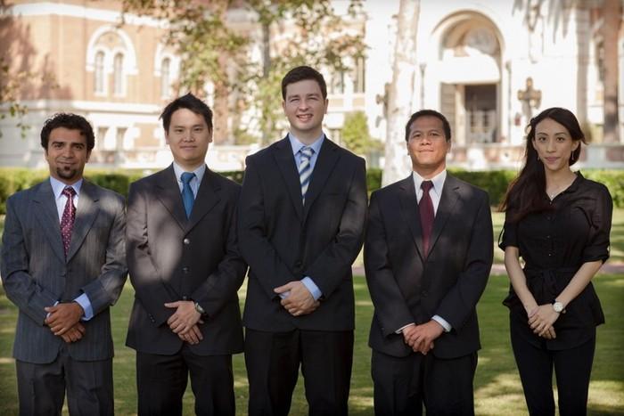 From left to right: Dr. Farhan Baluch, Kai Chang (Ph.D.c), Jens Windau (Ph.D.c), Dr. Christian Siagian, Debra Chiang