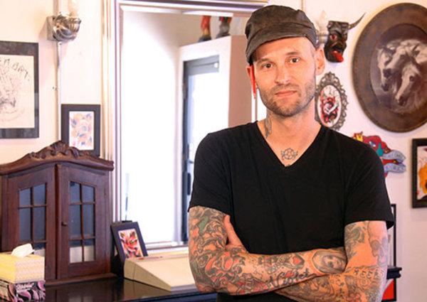 Jeremy Swan (Broken Art Tattoo / TLC's America's Worst Tattoos)