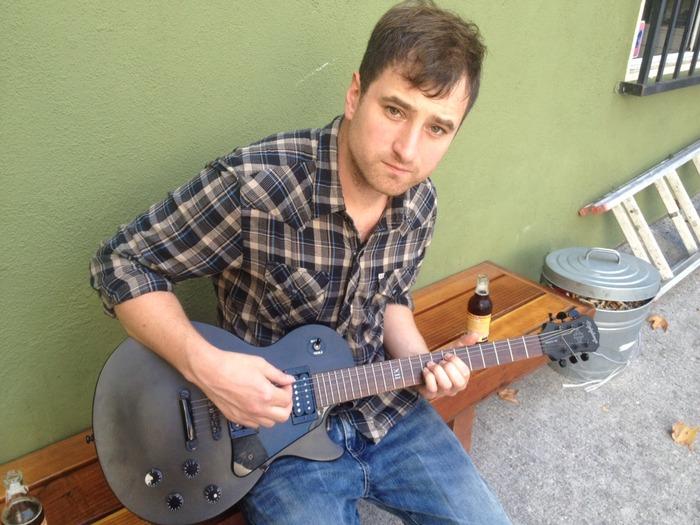 Ian Dowd's Epiphone Guitar