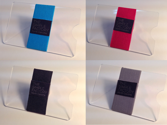 A sample of some of the elastic band colors, more will be available as well!