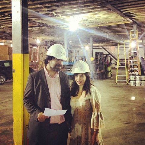 Turns out, hard hats aren't quite as flattering as we'd hoped they'd be.