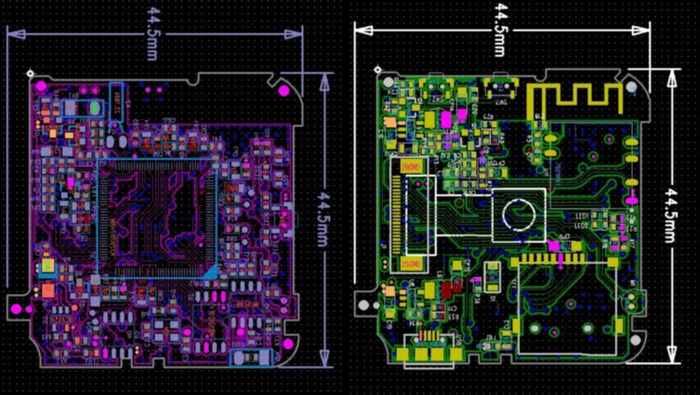 ParaShoot single eight layer PCB board design (proprietary)